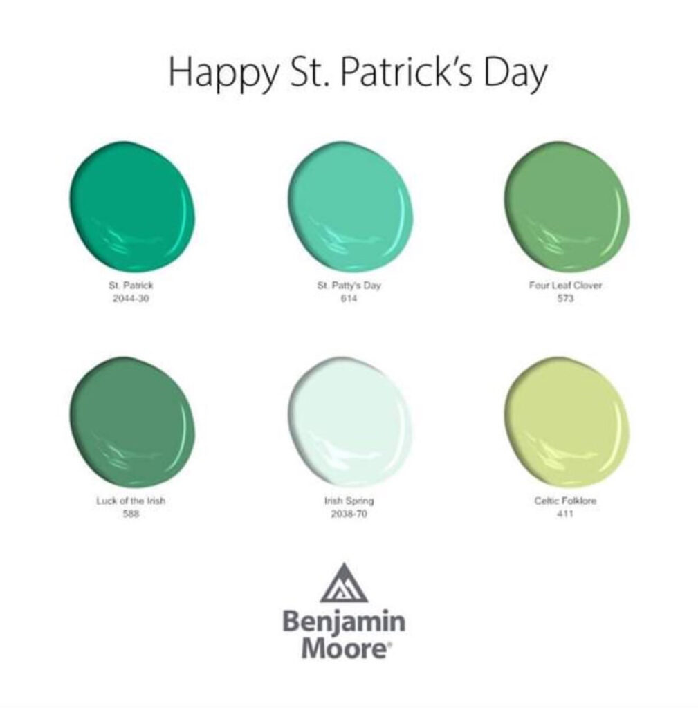 St. Patrick's Day Colors