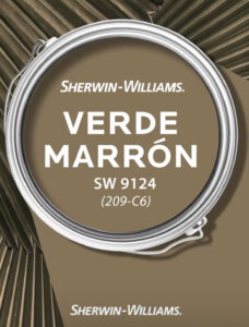 Sherwin Williams Verde Marron