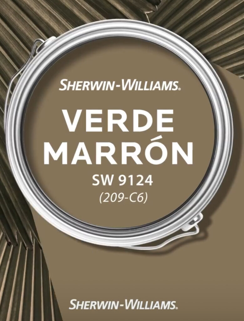 Sherwin Williams Verde Marron