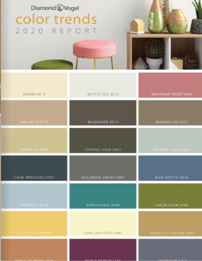 Diamond Vogel 2020 trending colors
