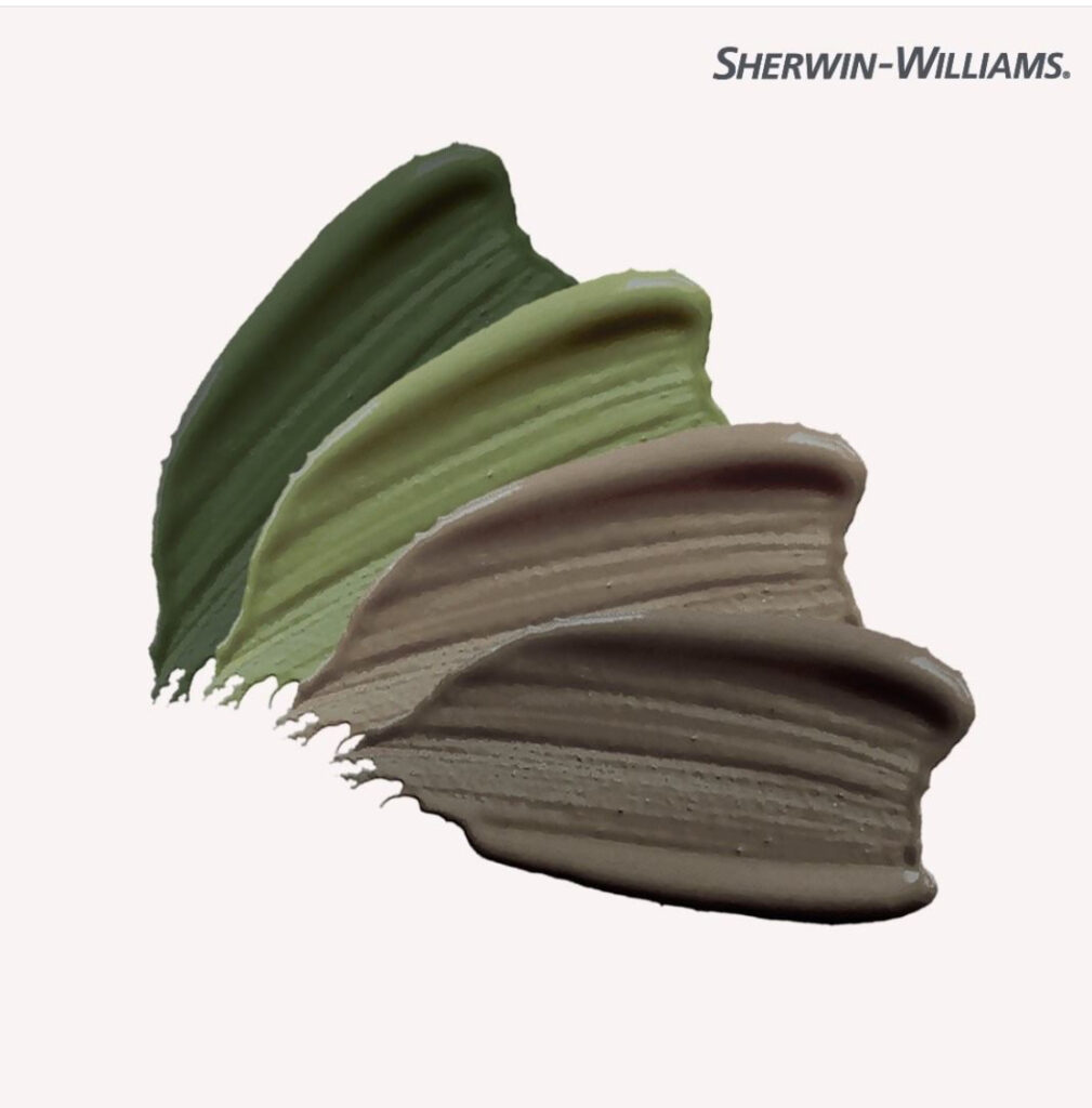 Sherwin Williams Earth Day Colors