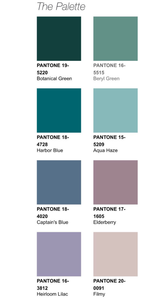 Pantone 2021 Palette