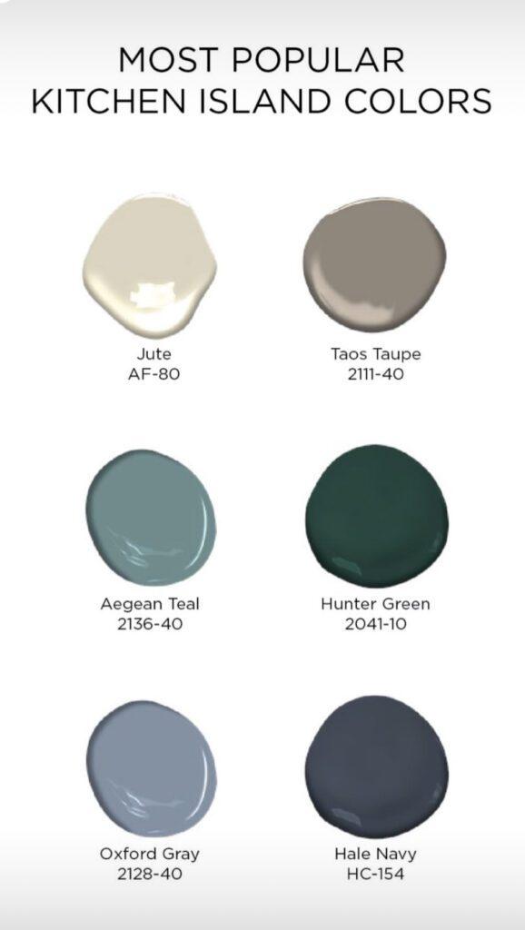 Benjamin Moore Cabinet Colors