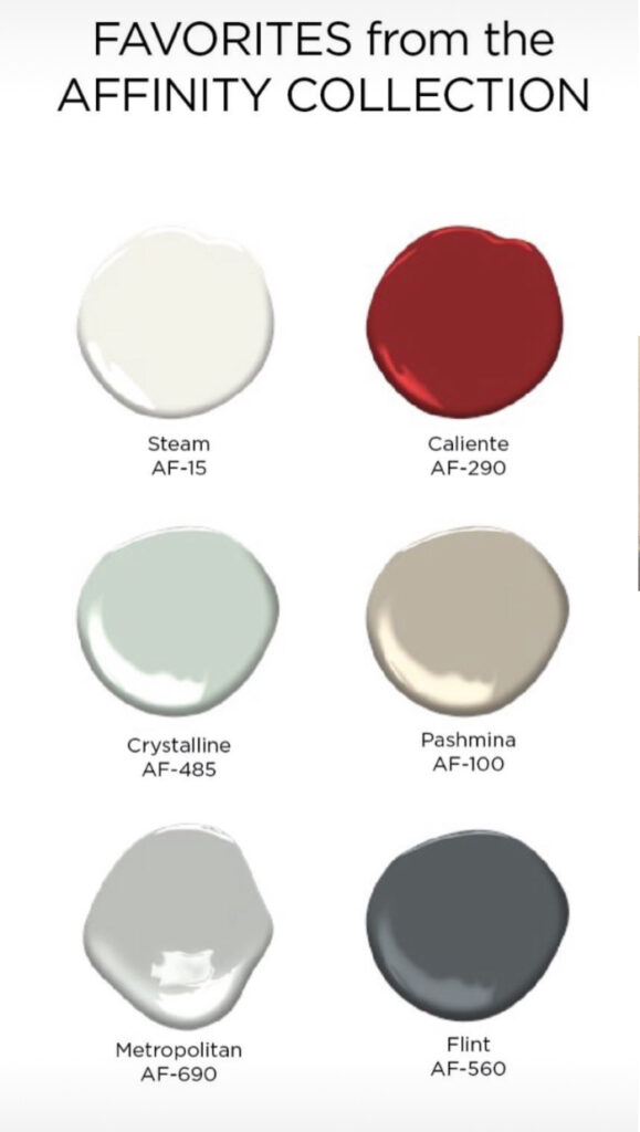 Popular Affinity Colors