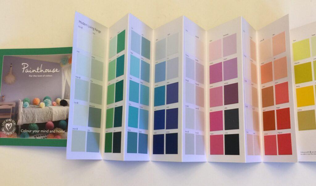 Painthouse Color Chart