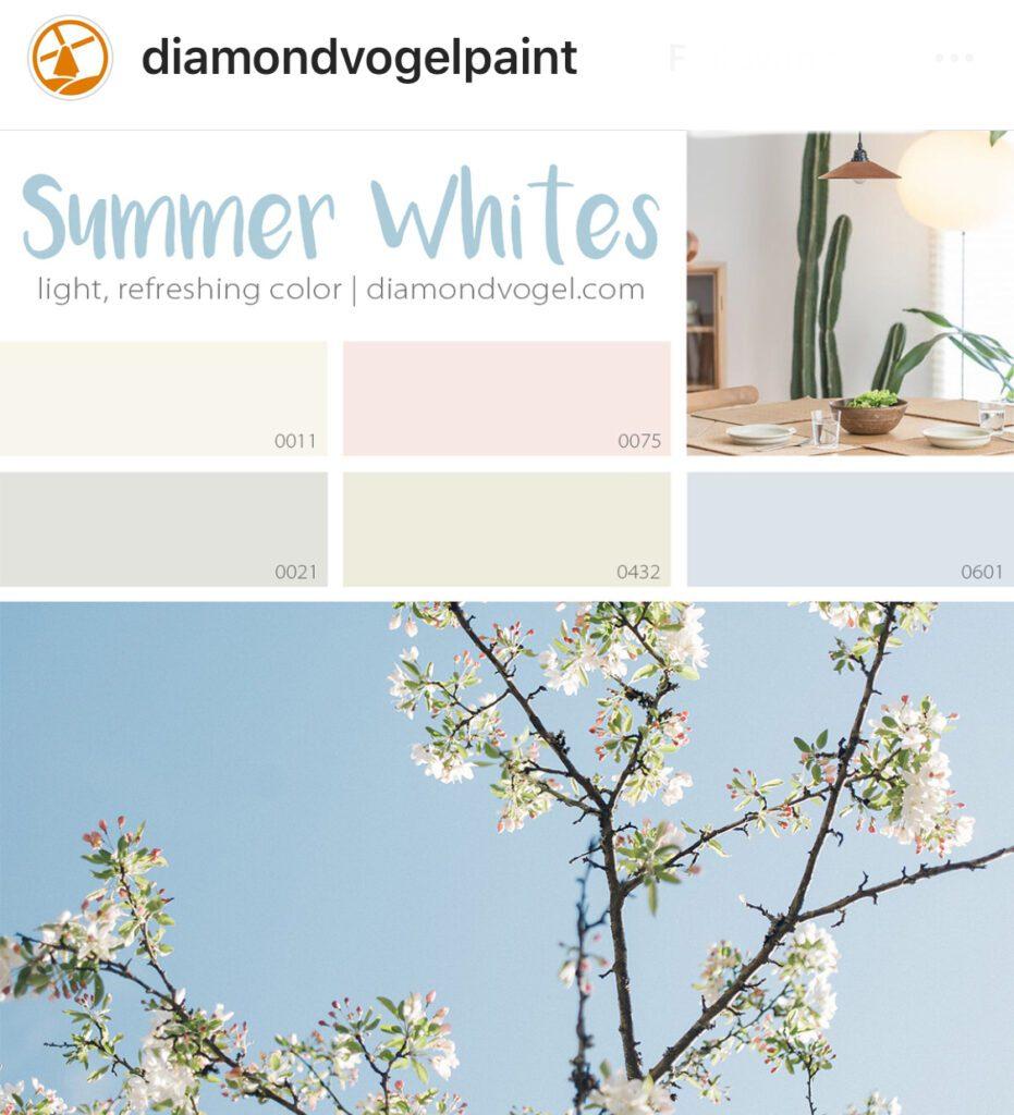 Diamond Vogel Summer Whites