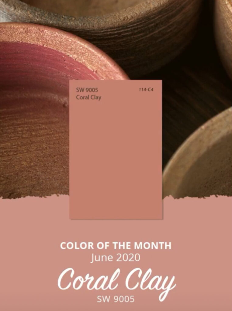 Sherwin Williams June 2020 Color of the Month