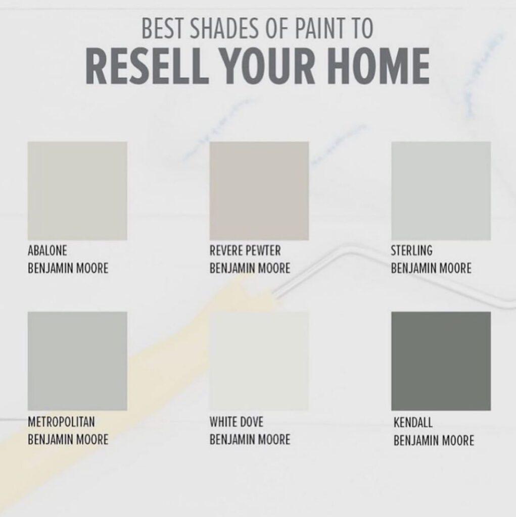 Resale Colors