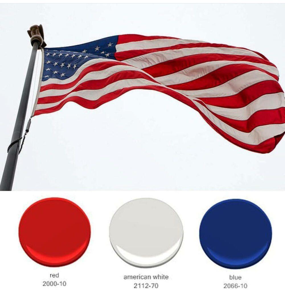 Benjamin Moore Independence Colors