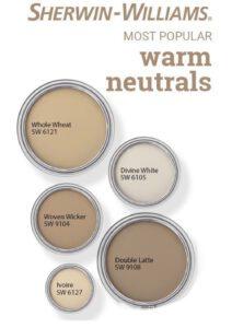 Sherwin Williams Warm Neutrals