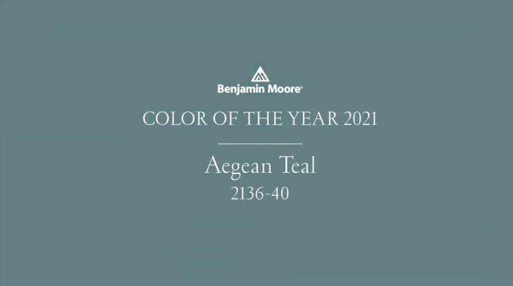 benjamin moore 2021 color of the year