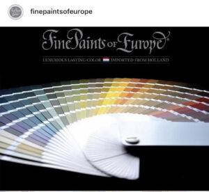 Fine Paints of Europe
