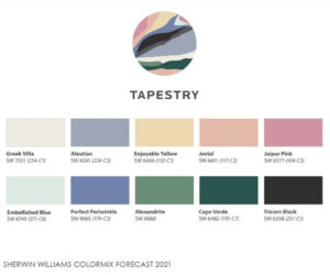 Sherwin Williams Tapestry