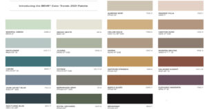 Behr 2021 Color Trends