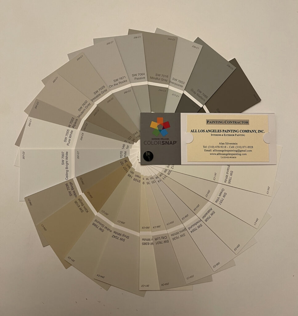 Sherwin Williams 50 most popular colors