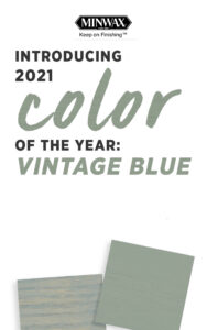 Minwax Color of the Year 2021