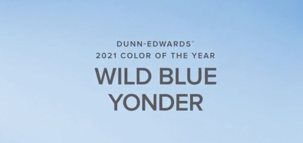 Dunn Edwards 2021 Color of the Year