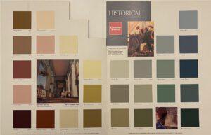 Devoe Historical Color Chart