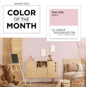 Clark+Kensington Color of the Month
