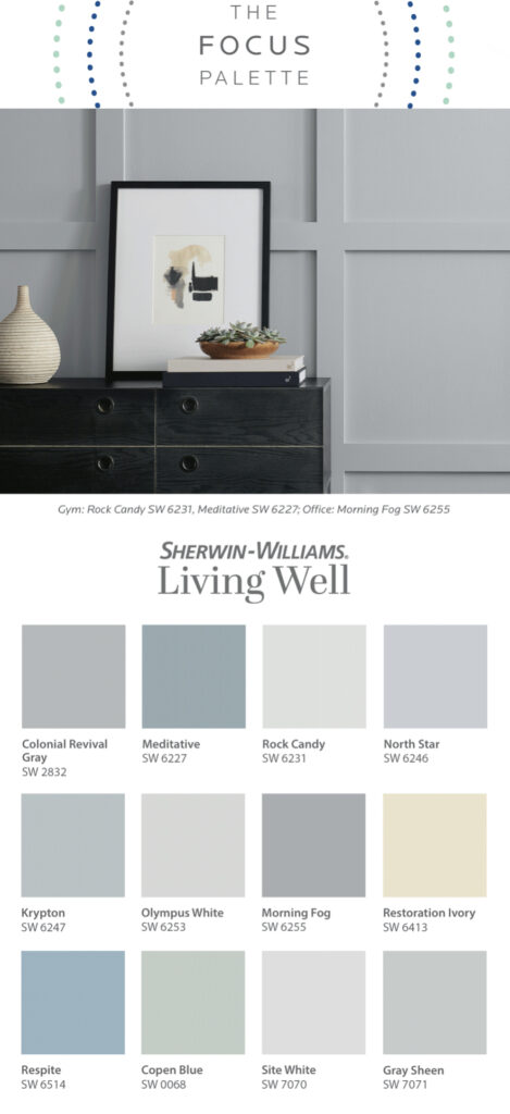 Sherwin Williams Living Well Palette