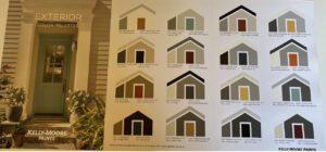 Kelly Moore Exterior Color Combinations