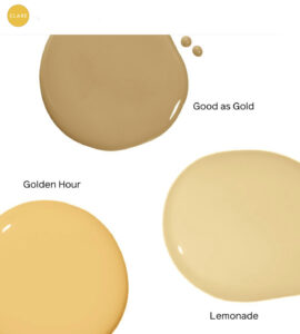 Clare Paint Yellows