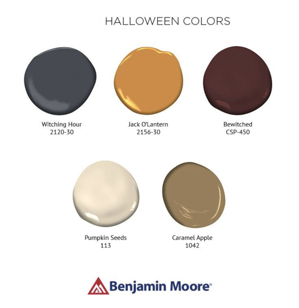 Benjamin Moore Halloween Colors