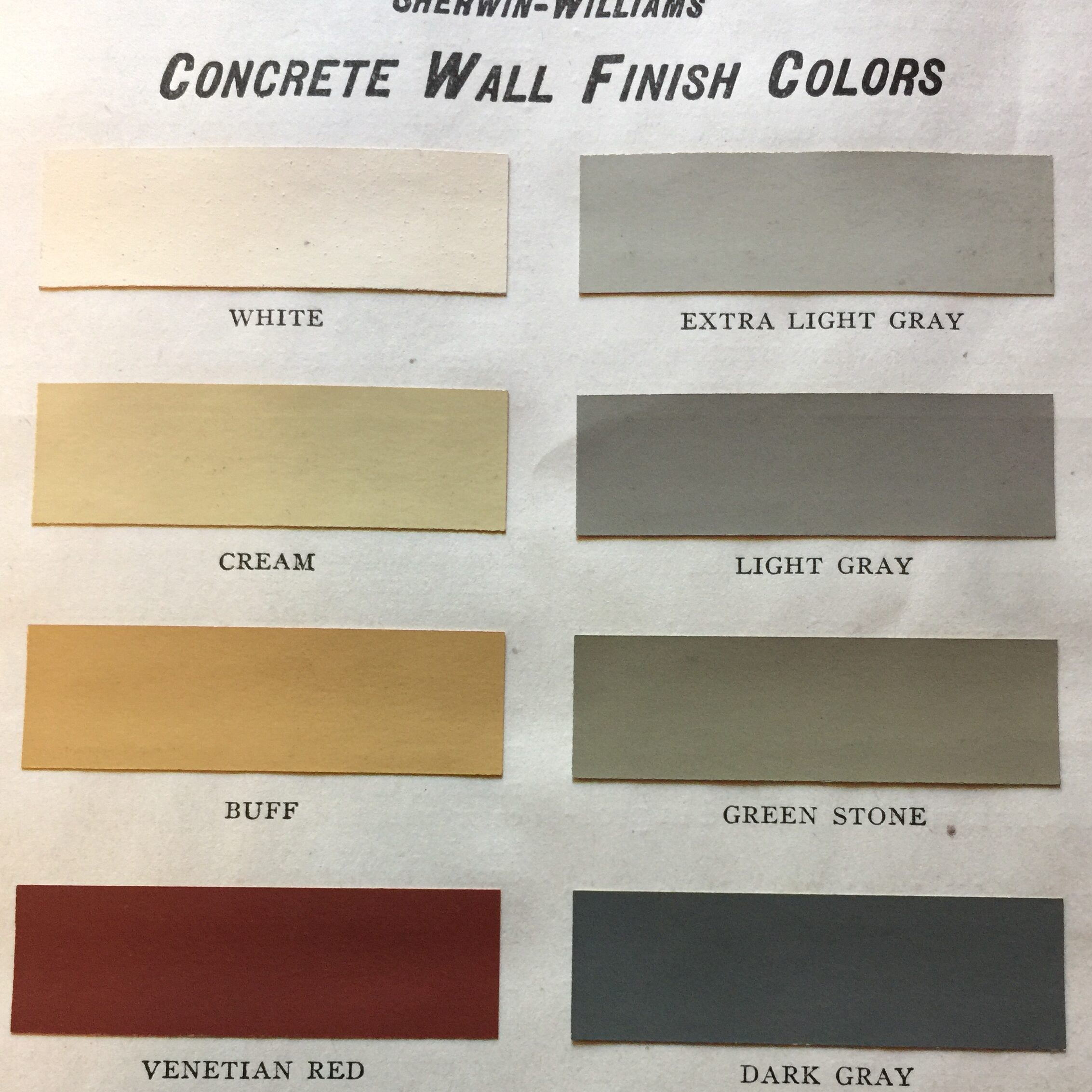 Sherwin Williams Vintage Colors