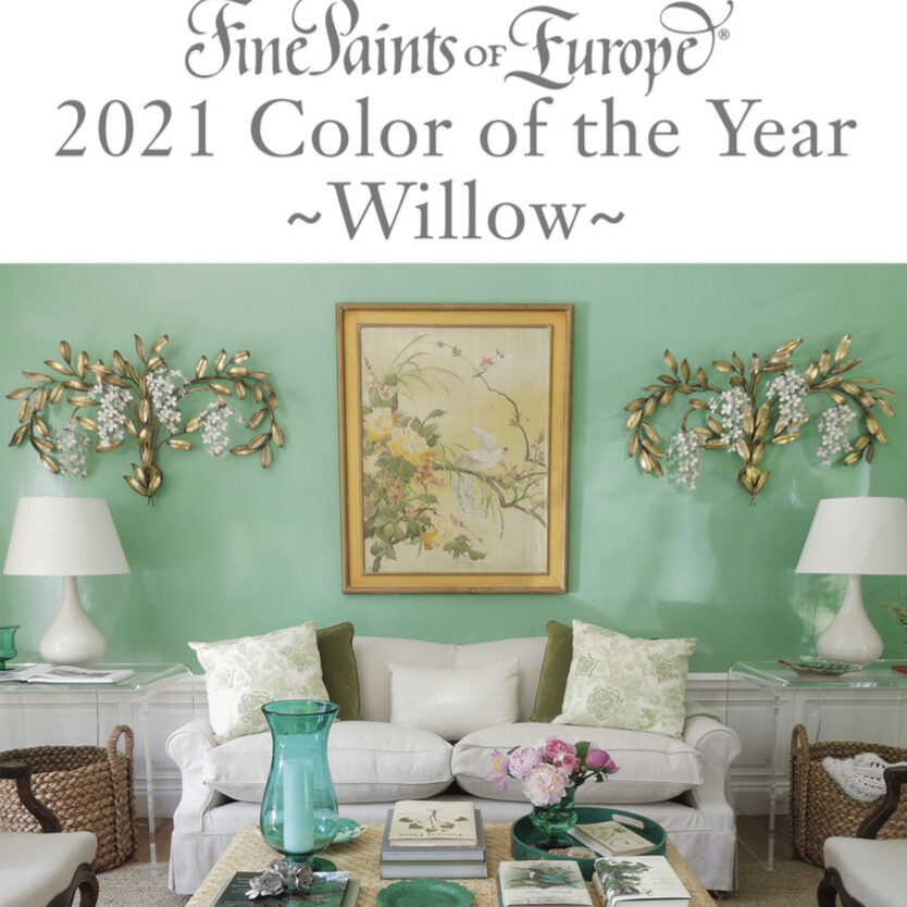 Fine Paints of Europe 2021 Color of the Year