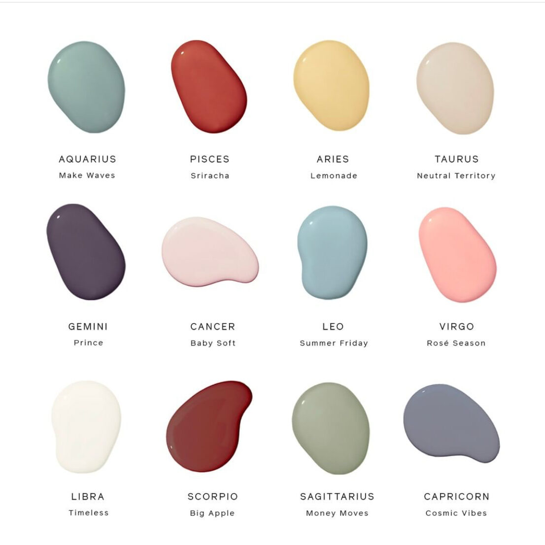 Clare Paint Palette