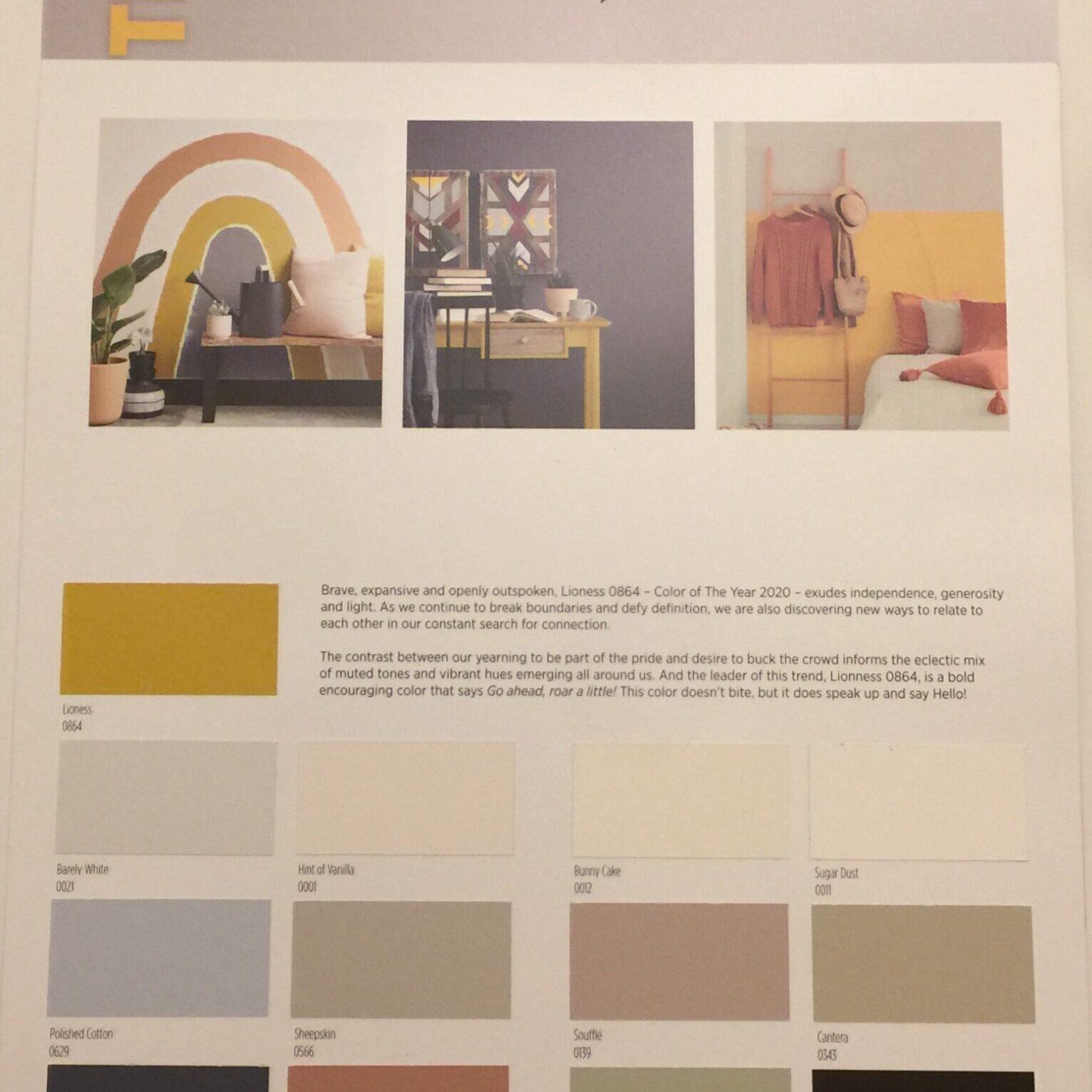 vista paints 2020 color trends