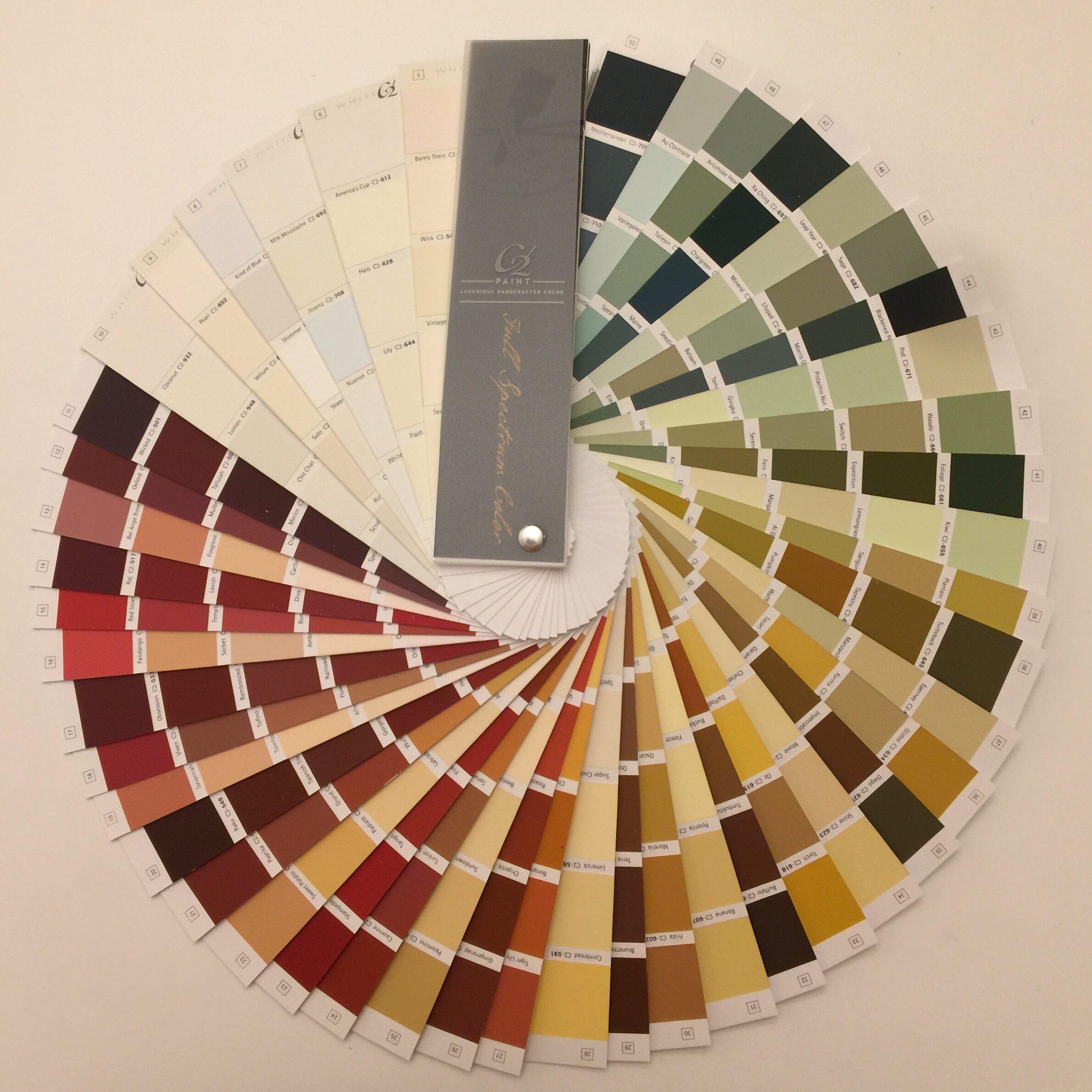 C2 Paint Fan Deck
