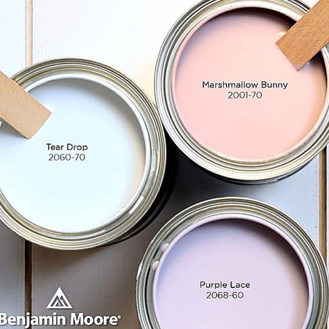 Benjamin Moore Easter Colors