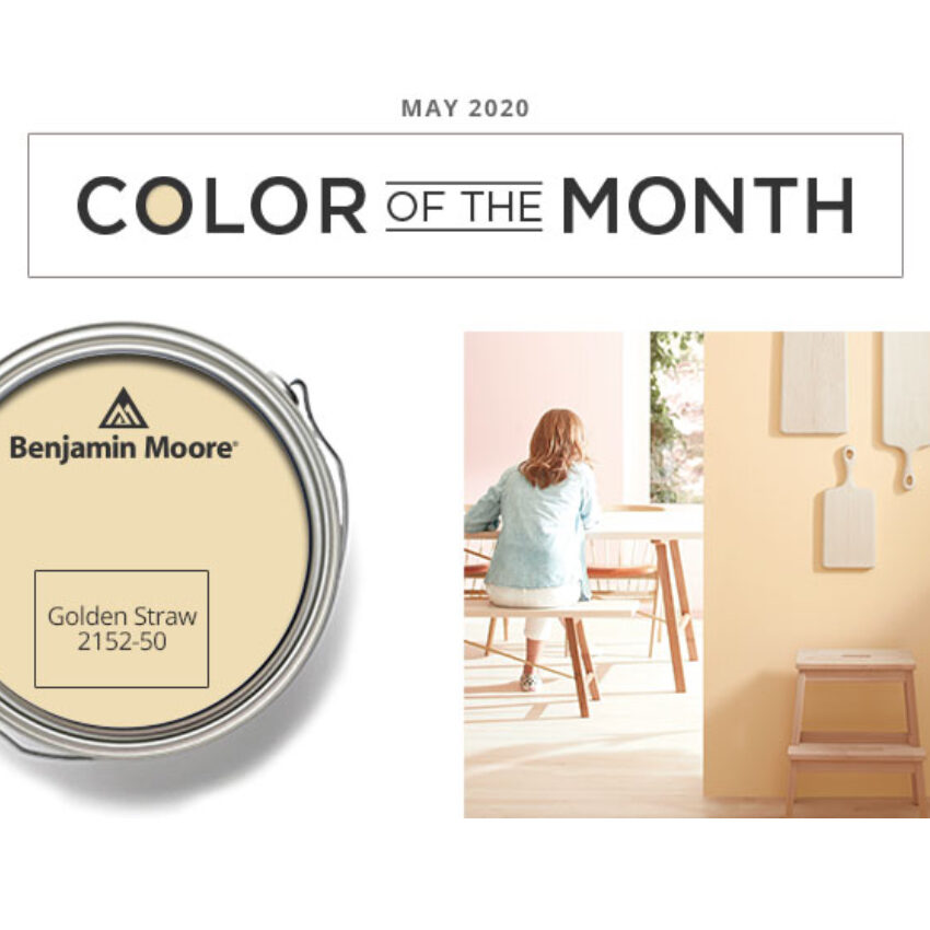 Benjamin Moore Color of the Month May 2020