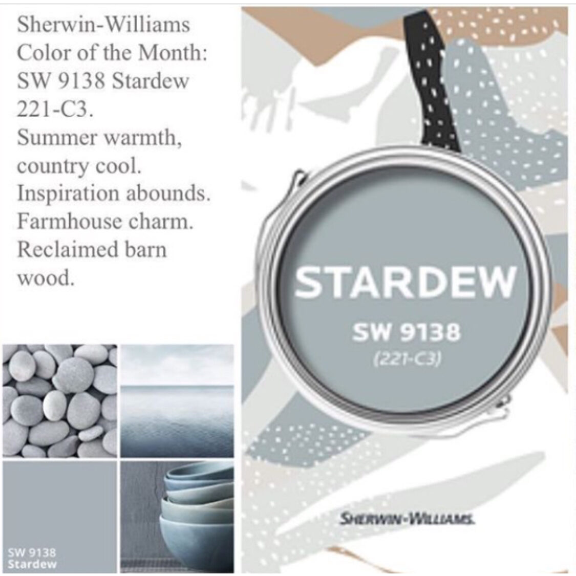 sherwin williams color of the month may 2020