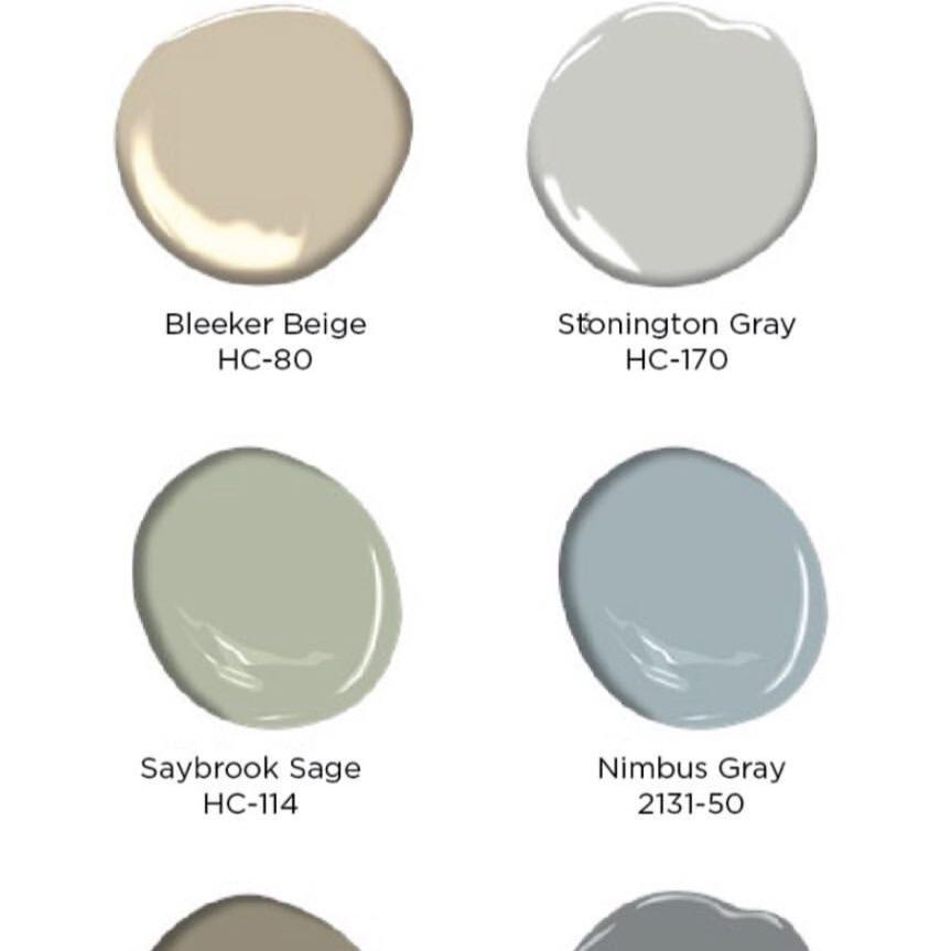 Benjamin Moore exterior colors