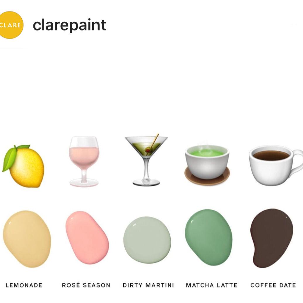 Clare Paint Colors