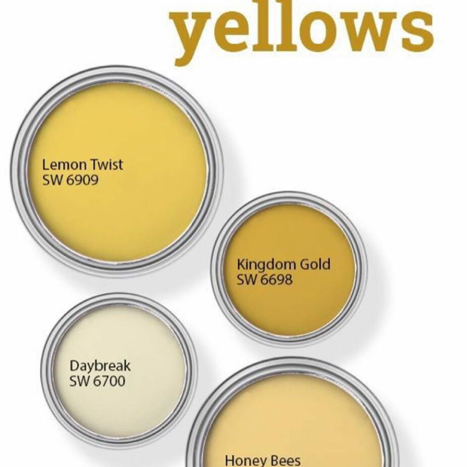 Sherwin Williams Yellow